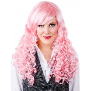 Anime Long Cherry Blossom Pink Wig