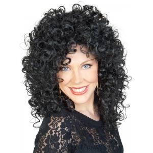 Black Curly Lady Wig