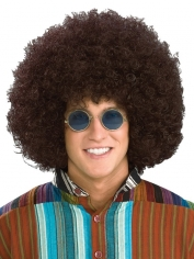 Jumbo Hippie Afro Brown Wig