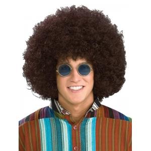 Jumbo Hippie Afro Brown Wig