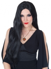 Long Black Straight Wig
