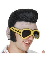 Elvis Latex Headpiece with glasses