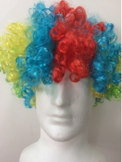 Multi Colored Afro Wig - Costume Wigs