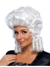 White Colonial Women's Wig