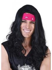 Hippie Black Wig - 60's Wigs