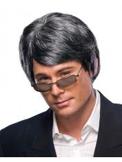Grey Men's Wig