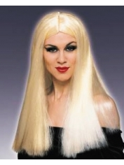 Halloween Long Blonde Wig
