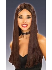 Halloween Long Brown Wig