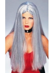Halloween Long Grey Wig
